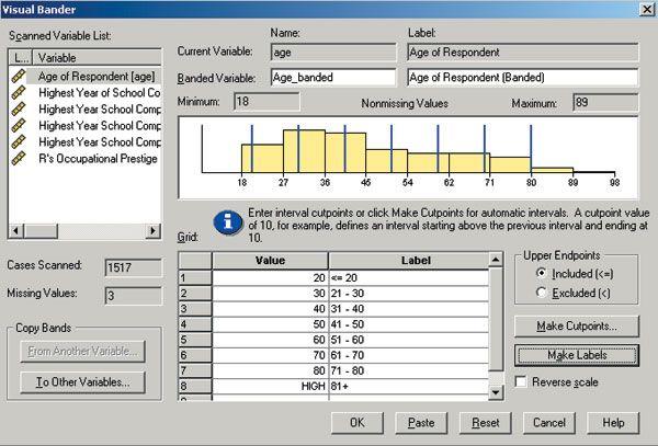 SPSS - Software de Tabulação