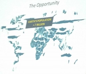 Mapa mundi mostrando os 5 bilhões de pobres